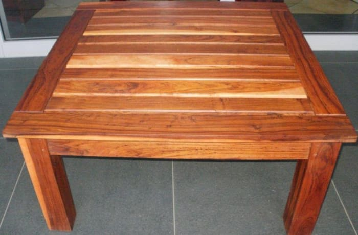Slatted Top coffee table