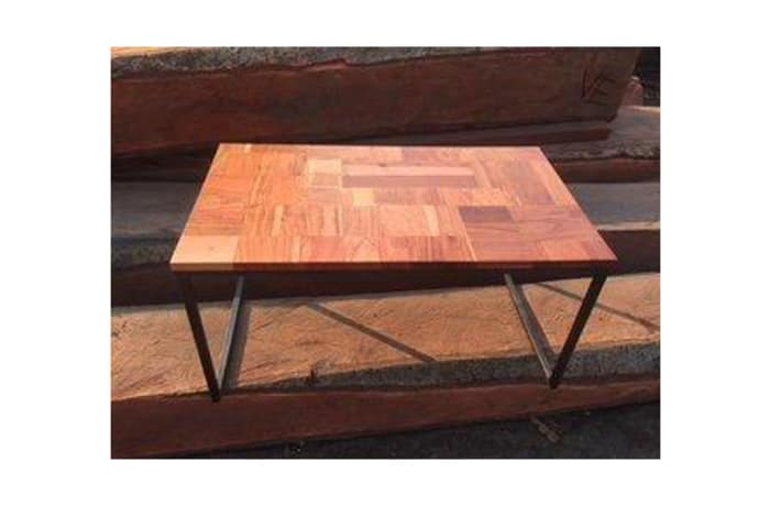 Square Steel Legs coffee table