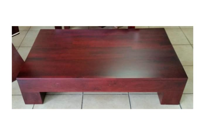 Thick Hardwood coffee table