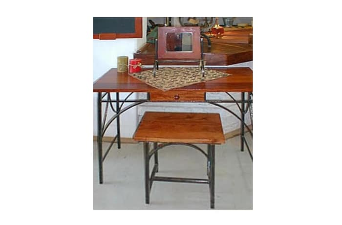 Timber and steel dresser Tonga