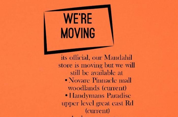 Kubu Crafts are relocating from Manda Hill Mall to East Park Mall image