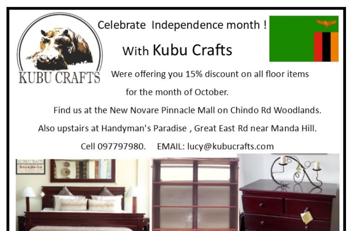 15% off all floor furniture image
