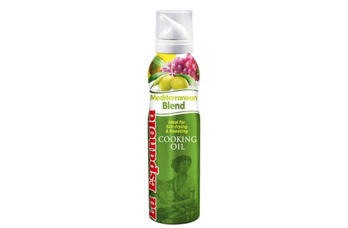 Mediterranean Cooking Oil 200ml - Olive Oil Spray La Espanola