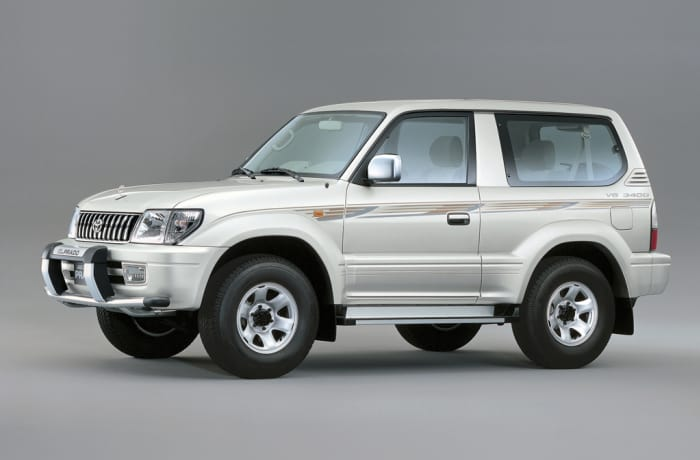 Landcruiser Prado - Per day - outside Lusaka