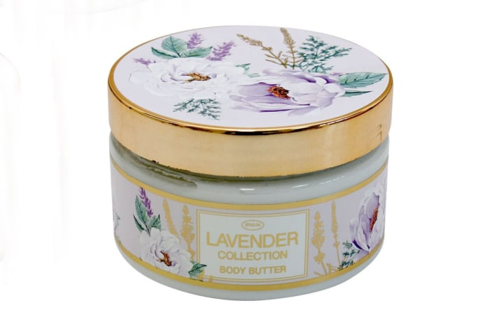 Body Butter Lavender Flower's  Collection 300g