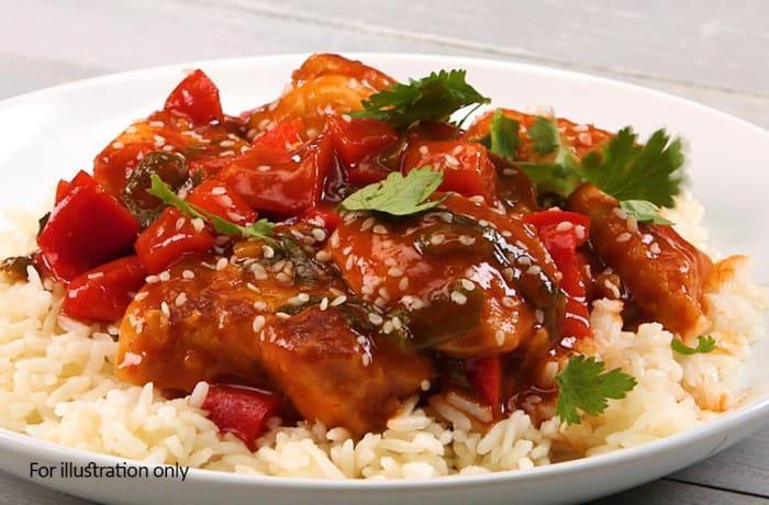 Chicken - Chicken in Dry Creole Sauce