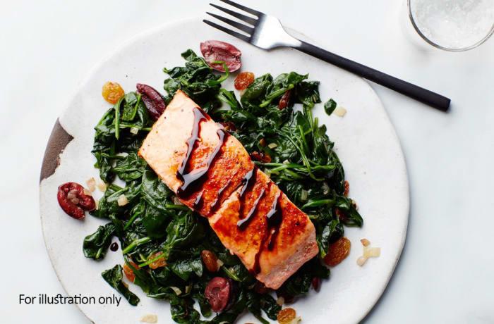 Fish - Balsamic Glazed Salmon Fillets