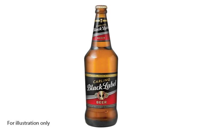 Bar Menu  - Black Label Lager