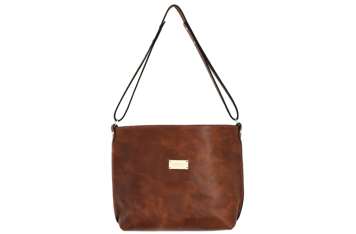 Day bag in leather