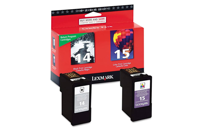 Printer Ink Cartridges - Lexmark 18C2239 #14 & #15 Toner Cartridge (18C2090 & 18C2110)