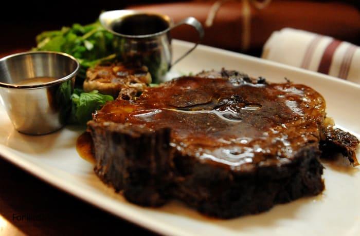 Mains -Char Grilled Rump Steak