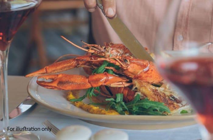 Mains - Grilled Zambian Crayfish