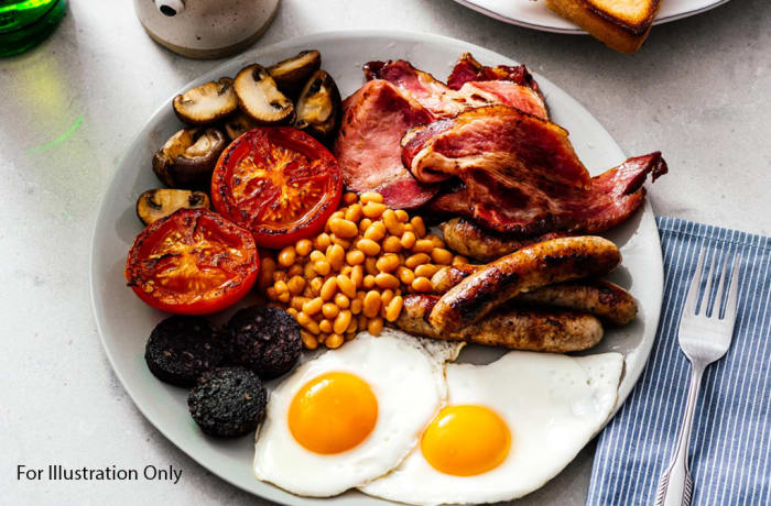 Breakfast - Non Vegetarian - Full English Breakfast