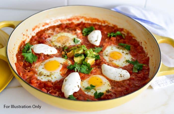 Breakfast - Non Vegetarian - Shakshuka