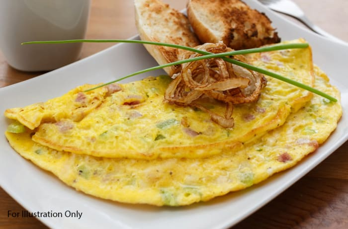 Breakfast - Non Vegetarian - Two Egg Omelette