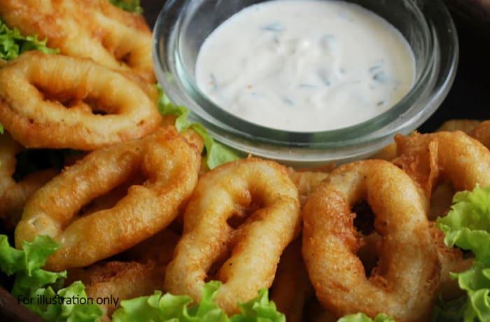 Starters - Fish & Seafood - Deep Fried Calamari