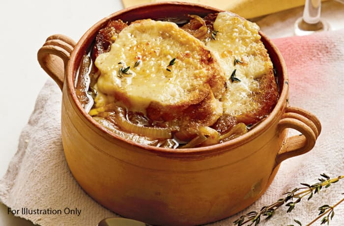 Starters - Vegetarian - Classic French Onion Soup