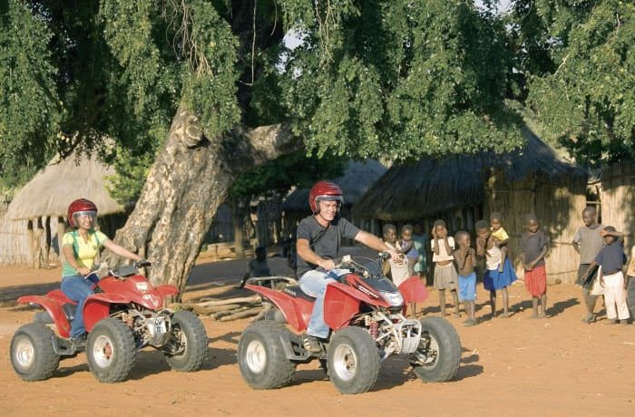Quad bike village trail