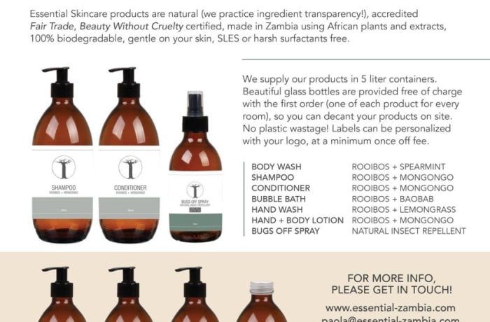 Love Your Earth - the all natural zero waste hospitality range image