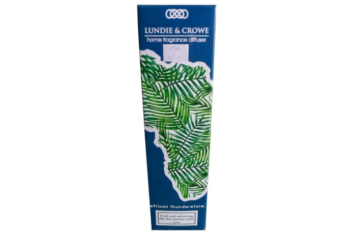 Air Freshener - Lundi & Crowe Home Fragrance Diffuser African Thunderstorm