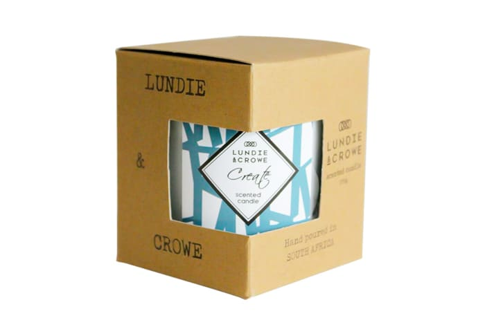 Lundie & Crowe Scented Candle - Create