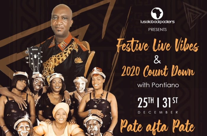 Festive live vibes and 2020 count down image