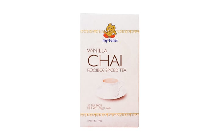 Herbal Tea Vanilla Chai Rooibos Spiced Tea  20 Tea Bags