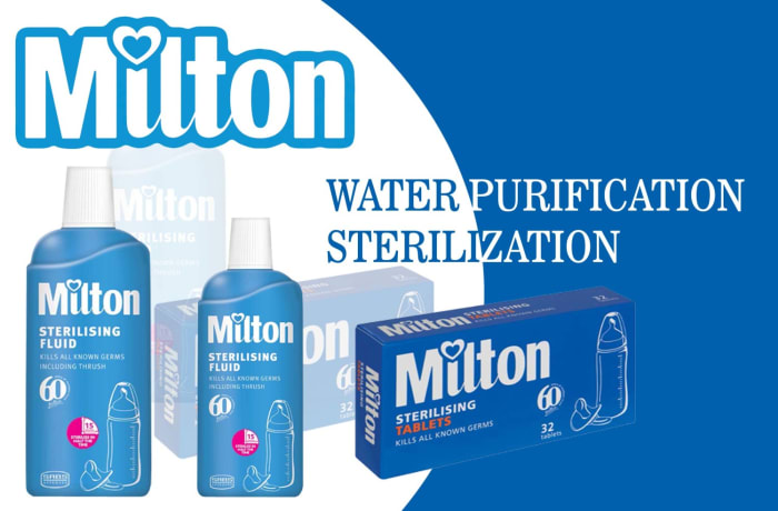 Milton sterilization and water safety image