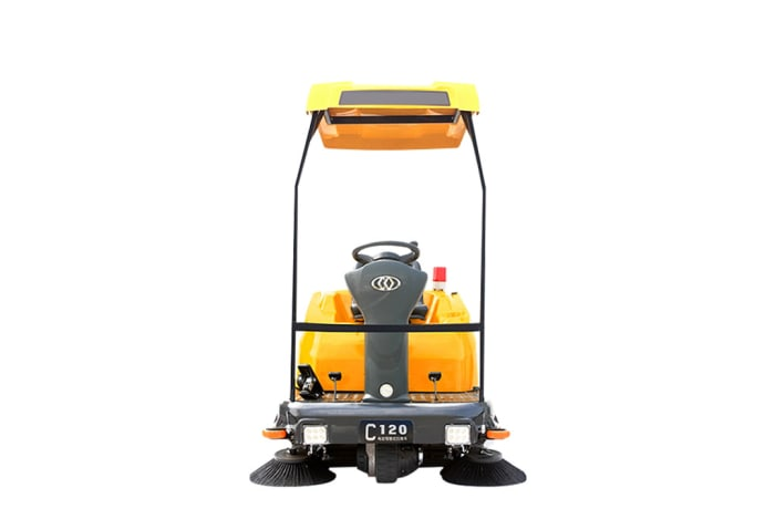 C120p Ride on Industrial Floor Sweeper