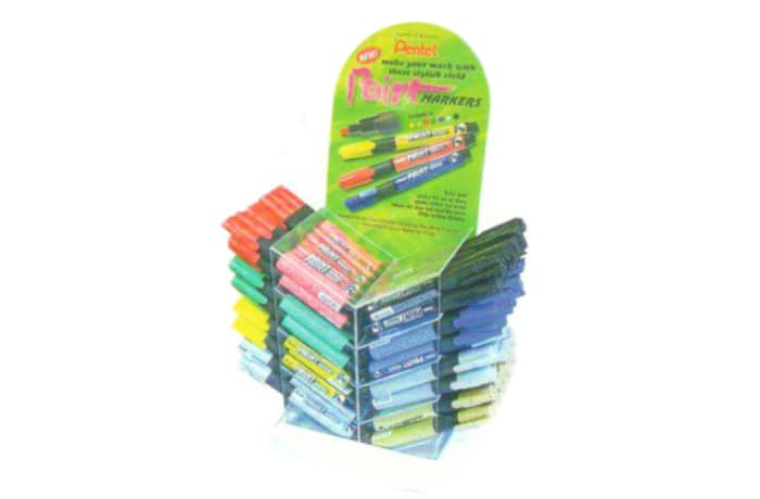 MMP20-5D  Paint Marker Bullet Point - Display