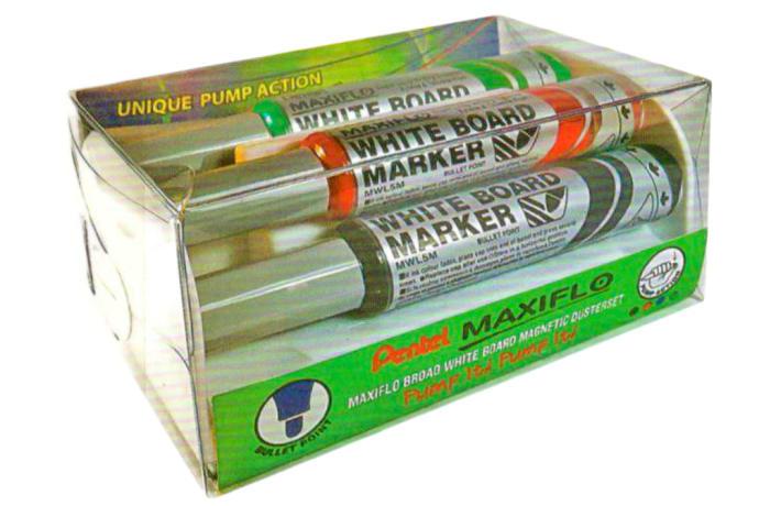 MWL5M4MS White Board Marker Maxiflo Pump-it Bullet Point