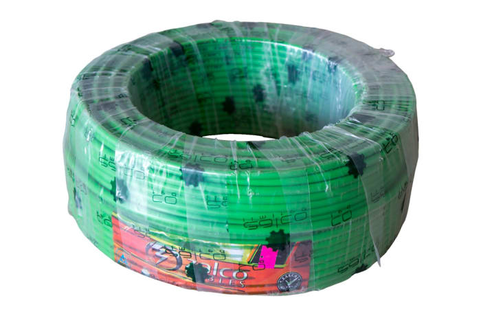 Green Electrical-cable-size-10mm-length-100m