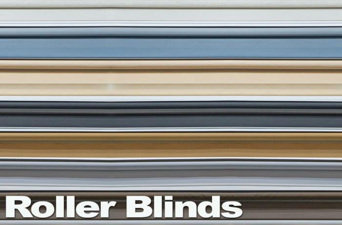 Roller blinds assorted