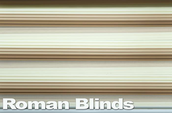 Roman blinds - beautiful and elegant