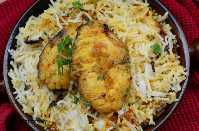 Rice - Fish Biryani