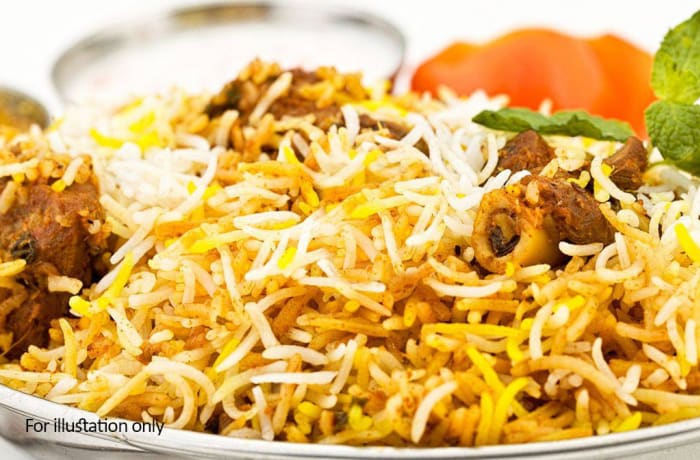Rice Dishes  - Mutton Biryani