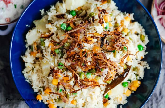 Rice - Vegetarian Pulao
