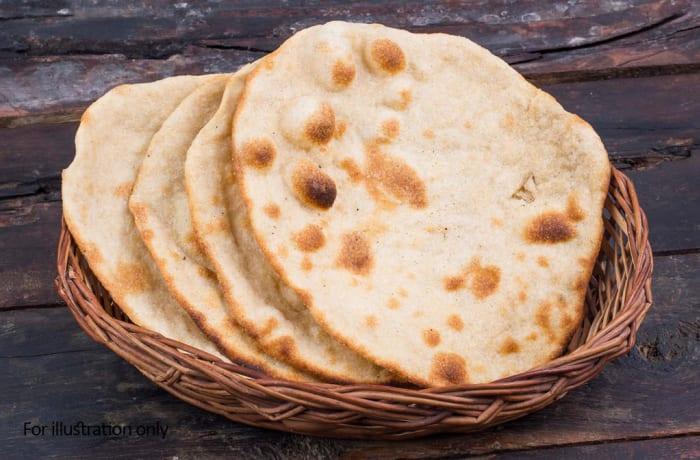 Roti, Naan & Paratha Dishes  - Plain Roti