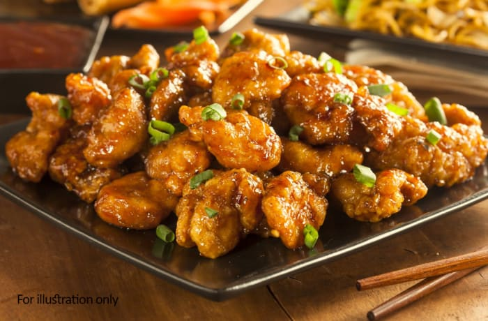 Non-Vegetarian Starters   - Chicken Chilly