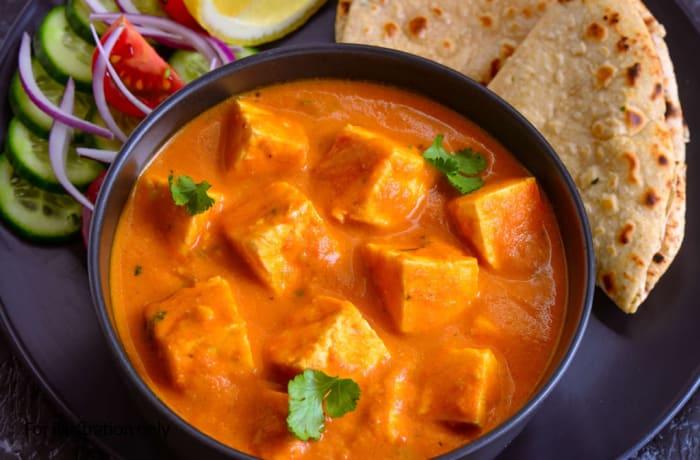 Vegetarian Curry - Paneer Tikka Masala