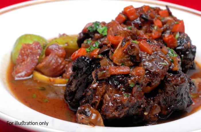 Zambian Corner - Goat meat stew