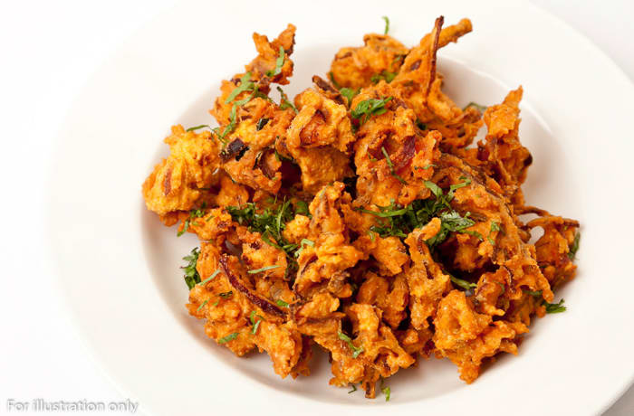Non Vegetarian Appetizers - Chicken Bhajia