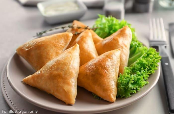 Non Vegetarian Appetizers - Chicken Samosa