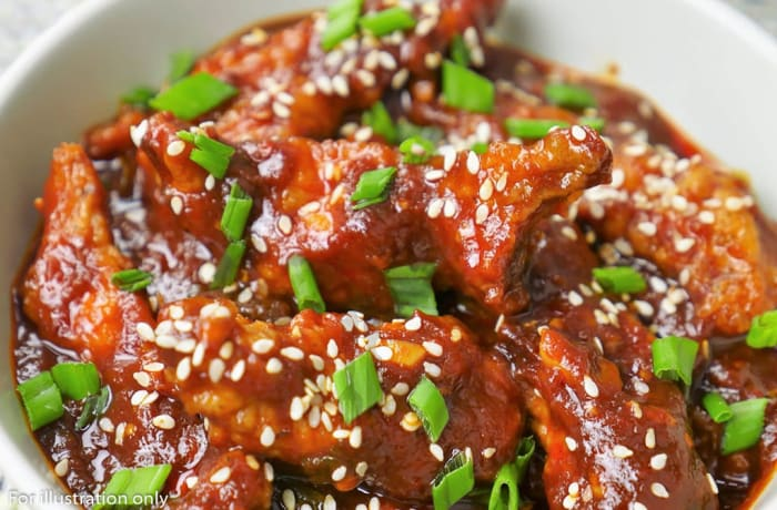 Non Vegetarian Appetizers - Dragon Chicken