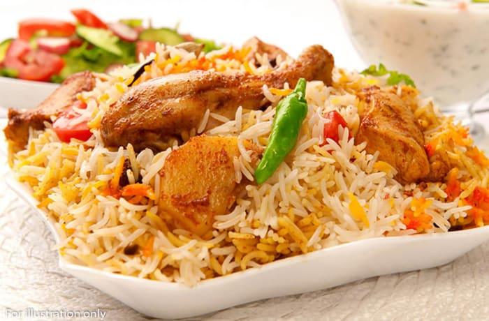 Rice - Chicken Biryani