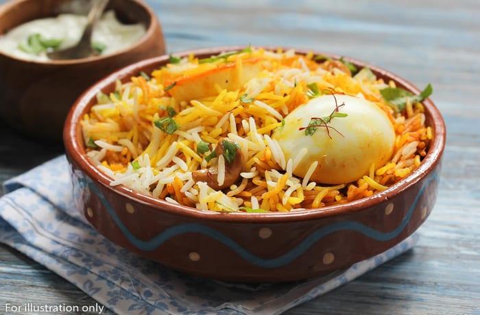 Rice - Egg Biryani