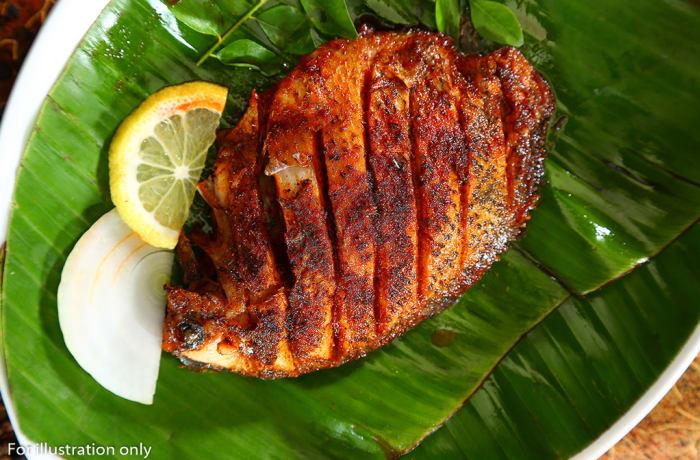 Sea food - Fish Pollichathu