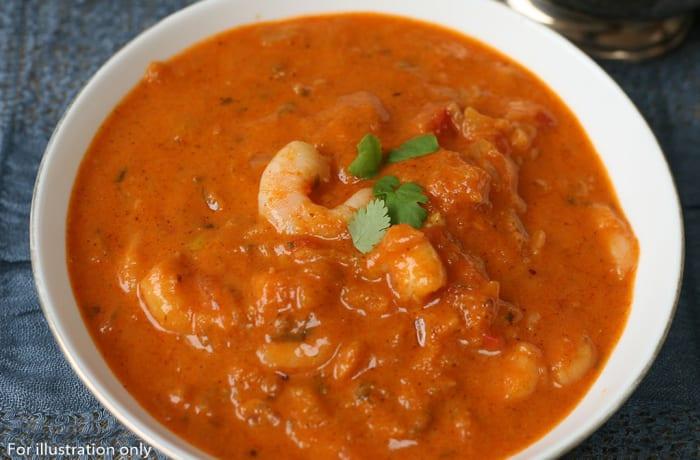 Sea food - Prawn Curry