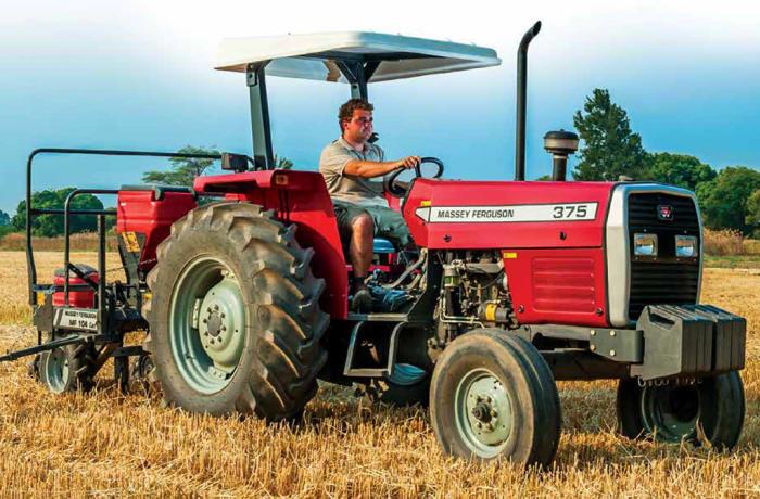 MF 375 XTRA 75 HP Tractor