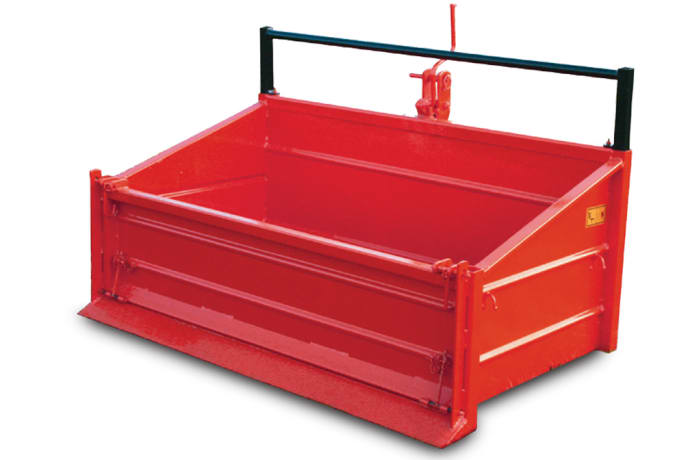 MF Transport Box Tipping transport box 3-point linkage
